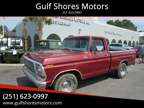 1978 Ford F-100 for sale at Gulf Shores Motors in Gulf Shores AL