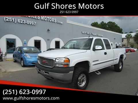 2002 GMC Sierra 2500HD for sale in Gulf Shores, AL