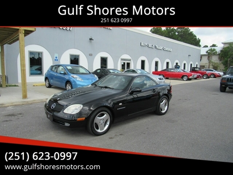 1998 Mercedes-Benz SLK for sale at Gulf Shores Motors in Gulf Shores AL