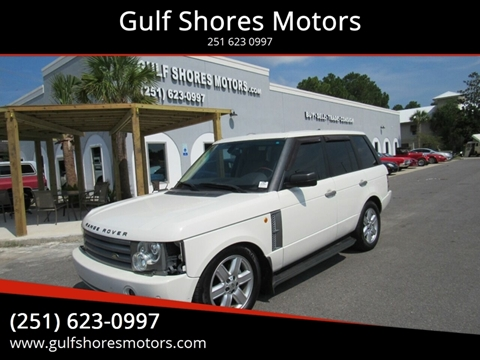 2005 Land Rover Range Rover for sale at Gulf Shores Motors in Gulf Shores AL