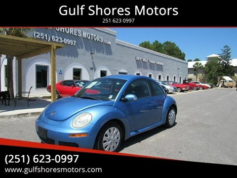 2010 Volkswagen New Beetle for sale at Gulf Shores Motors in Gulf Shores AL
