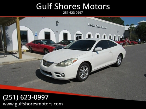 2008 Toyota Camry Solara for sale at Gulf Shores Motors in Gulf Shores AL