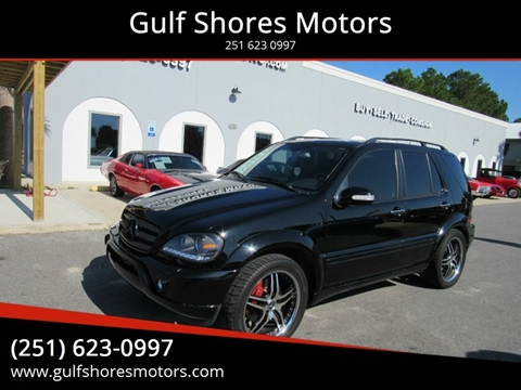 2002 Mercedes-Benz M-Class for sale at Gulf Shores Motors in Gulf Shores AL