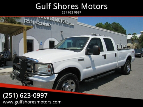 2006 Ford F-350 Super Duty for sale at Gulf Shores Motors in Gulf Shores AL