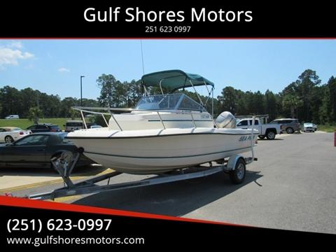 1999 Sea Pro 190 WA for sale at Gulf Shores Motors in Gulf Shores AL