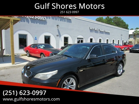2010 BMW 5 Series for sale at Gulf Shores Motors in Gulf Shores AL