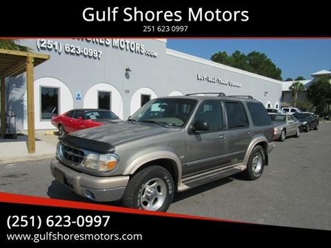 1999 Ford Explorer for sale at Gulf Shores Motors in Gulf Shores AL