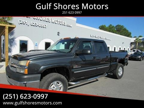 2005 Chevrolet Silverado 2500HD for sale at Gulf Shores Motors in Gulf Shores AL