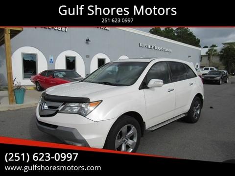 2008 Acura MDX for sale at Gulf Shores Motors in Gulf Shores AL