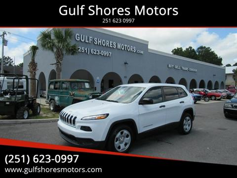 2016 Jeep Cherokee for sale at Gulf Shores Motors in Gulf Shores AL