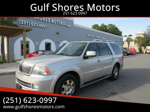 2006 Lincoln Navigator for sale at Gulf Shores Motors in Gulf Shores AL