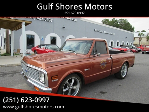 1972 Chevrolet C/K 10 Series for sale at Gulf Shores Motors in Gulf Shores AL