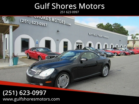 2003 Lexus SC 430 for sale at Gulf Shores Motors in Gulf Shores AL