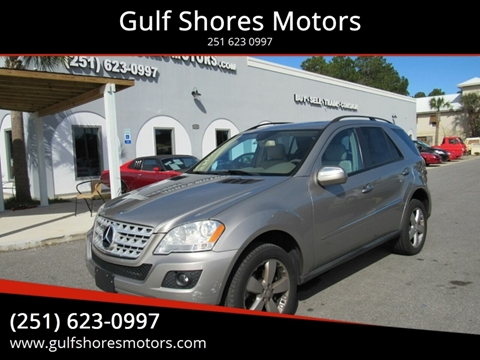 2009 Mercedes-Benz M-Class for sale at Gulf Shores Motors in Gulf Shores AL