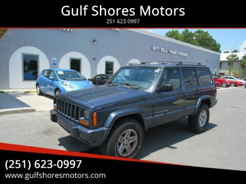 2001 Jeep Cherokee for sale at Gulf Shores Motors in Gulf Shores AL