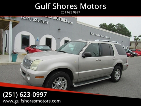 2004 Mercury Mountaineer for sale at Gulf Shores Motors in Gulf Shores AL
