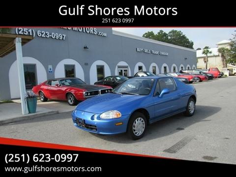 1993 Honda Civic del Sol for sale at Gulf Shores Motors in Gulf Shores AL
