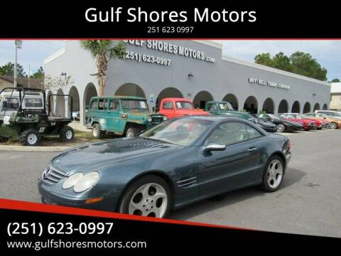 2004 Mercedes-Benz SL-Class SL 500 for sale at Gulf Shores Motors in Gulf Shores AL