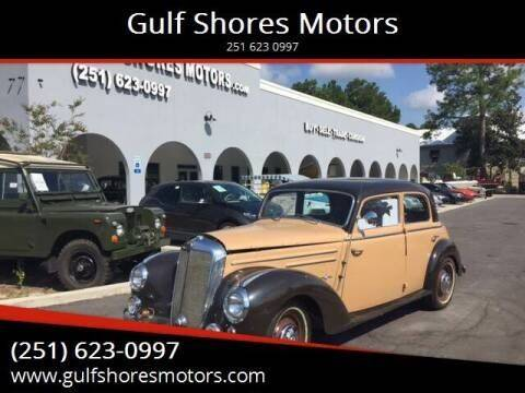 1952 Mercedes-Benz S-Class for sale at Gulf Shores Motors in Gulf Shores AL