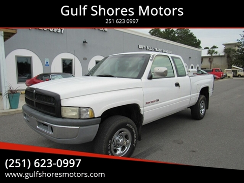 1995 Dodge Ram Pickup 1500 for sale at Gulf Shores Motors in Gulf Shores AL
