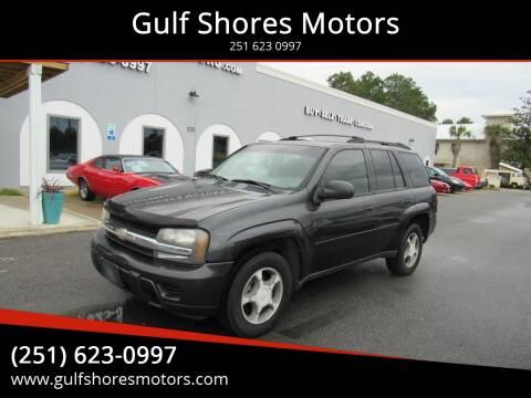 2006 Chevrolet TrailBlazer for sale at Gulf Shores Motors in Gulf Shores AL