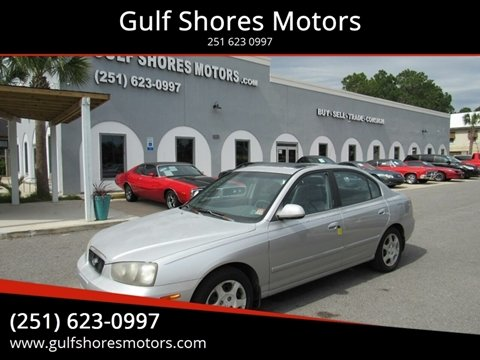 2002 Hyundai Elantra for sale at Gulf Shores Motors in Gulf Shores AL