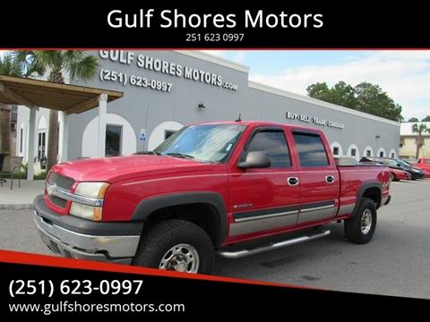2003 Chevrolet Silverado 1500HD for sale at Gulf Shores Motors in Gulf Shores AL
