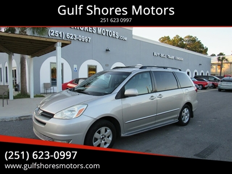 2004 Toyota Sienna for sale at Gulf Shores Motors in Gulf Shores AL
