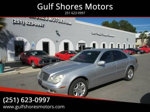 2004 Mercedes-Benz E-Class for sale at Gulf Shores Motors in Gulf Shores AL