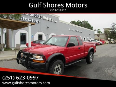2001 Chevrolet S-10 for sale at Gulf Shores Motors in Gulf Shores AL