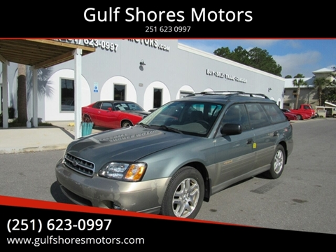 2001 Subaru Outback for sale at Gulf Shores Motors in Gulf Shores AL