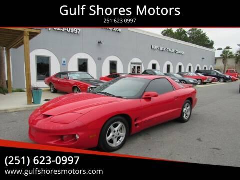 1998 Pontiac Firebird for sale at Gulf Shores Motors in Gulf Shores AL