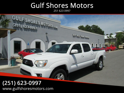 2012 Toyota Tacoma for sale at Gulf Shores Motors in Gulf Shores AL