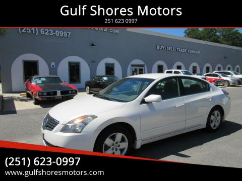 2007 Nissan Altima for sale at Gulf Shores Motors in Gulf Shores AL