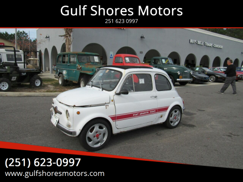 1970 FIAT Abarth 595 for sale at Gulf Shores Motors in Gulf Shores AL