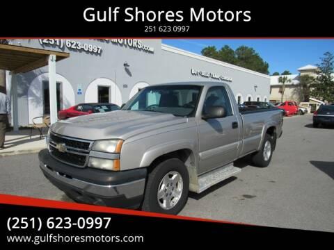 2006 Chevrolet Silverado 1500 for sale at Gulf Shores Motors in Gulf Shores AL