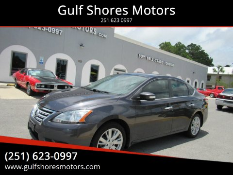 2013 Nissan Sentra for sale at Gulf Shores Motors in Gulf Shores AL