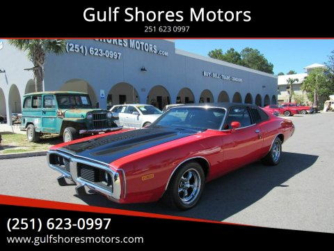 1973 Dodge Charger for sale at Gulf Shores Motors in Gulf Shores AL
