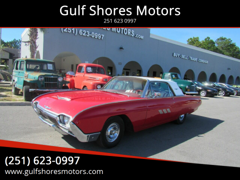 1963 Ford Thunderbird for sale at Gulf Shores Motors in Gulf Shores AL