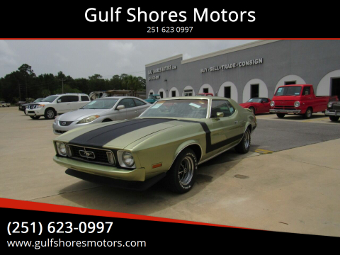1973 Ford Mustang for sale at Gulf Shores Motors in Gulf Shores AL