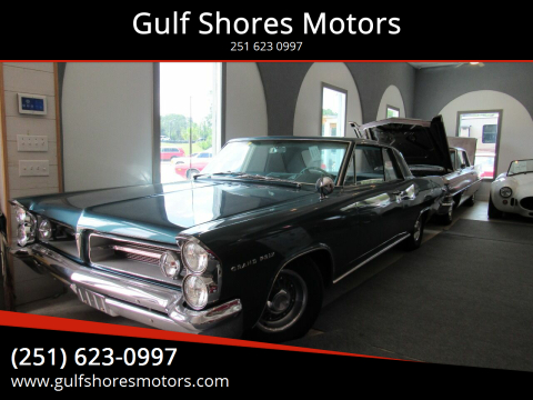 1963 Pontiac Grand Prix for sale at Gulf Shores Motors in Gulf Shores AL