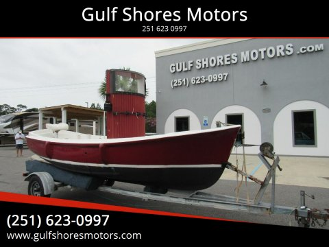 1974 Parker Bayou  Tug Boat  for sale at Gulf Shores Motors in Gulf Shores AL