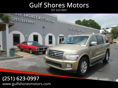 2006 Infiniti QX56 for sale at Gulf Shores Motors in Gulf Shores AL