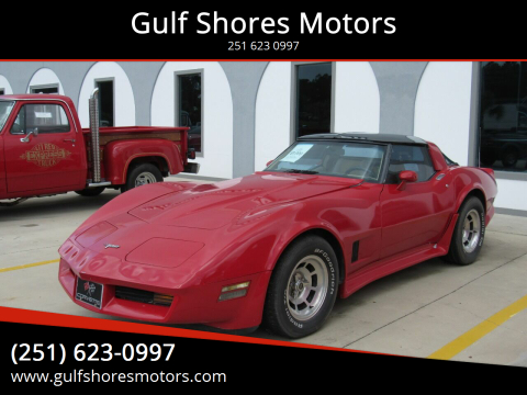 1980 Chevrolet Corvette for sale at Gulf Shores Motors in Gulf Shores AL
