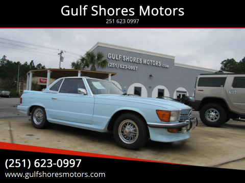 1973 Mercedes-Benz 450 SL for sale at Gulf Shores Motors in Gulf Shores AL
