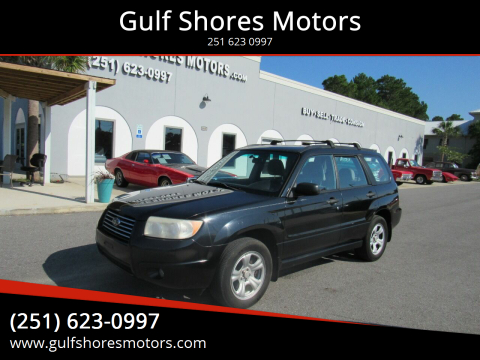 2007 Subaru Forester for sale at Gulf Shores Motors in Gulf Shores AL