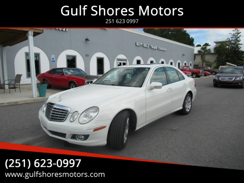 2009 Mercedes-Benz E-Class for sale at Gulf Shores Motors in Gulf Shores AL