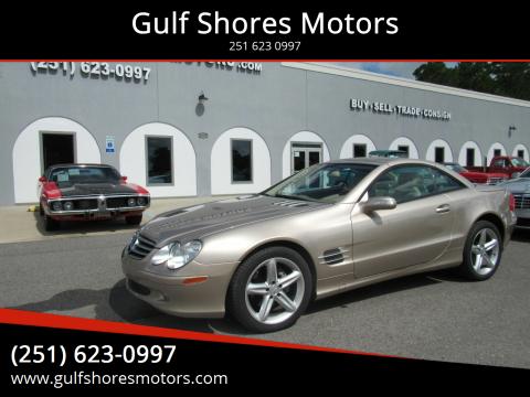 2005 Mercedes-Benz SL-Class for sale at Gulf Shores Motors in Gulf Shores AL