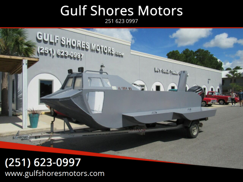 2011 Homemade Sub for sale at Gulf Shores Motors in Gulf Shores AL