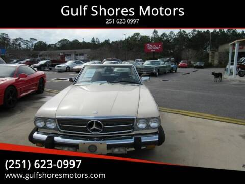 1987 Mercedes-Benz 560-Class for sale at Gulf Shores Motors - Highway 59 Automart in Robertsdale AL